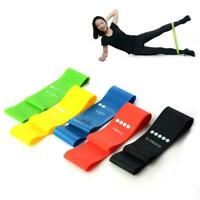 Rubber Resistance Bands Fitness Workout Elastic Training Band Yoga Pilates Hot