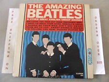THE BEATLES THE AMAZING BEATLES & OTHER GREAT ENGLISH GROUP SOUNDS ORIGINAL MONO