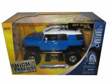 TOYOTA FJ CRUISER BLUE HIGH PROFILE OFF ROAD SERIES 1/24 DIECAST BY JADA 91824