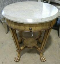 Kreiss Collections Stone Top End Table w/ Drawer