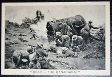 Canadian Corps   Battle of Flers - Courcelete  Somme 1916   Vintage Card