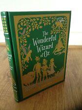 FRANK BAUM THE WONDERFUL WIZARD OF OZ LEATHER BOUND HARDBACK BOOK