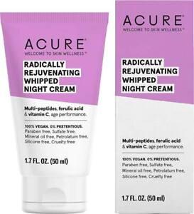 Radically Rejuvenating Whipped Night Cream by Acure Organics, 1.7 oz
