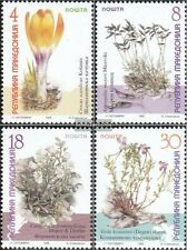 makedonien 170-173 mint never hinged mnh 1999 Locals Flowers