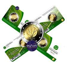 Coincard 2 euros commémorative BELGIQUE 2020 - Année de la Santé des Végétaux