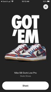 "Nike SB Dunk Parra ""Abstract Art"""