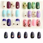 100pcs Multi Nail Charm Art Korean Natural Rhinestone Manicures PJ332-PJ337
