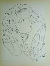 "Matisse ""Themes et Variations""  L16    original offset Lithograph  1943"