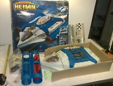 Vintage 1989 He-Man MOTU Starship Eternia Vehicle Mattel Open Unused contents