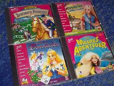 Barbie PC Sammlung Dornröschen Meer Detektivin Pferdwelt Pferdespiele VIEL