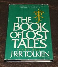 The Book of Lost Tales Vol I The History of Middle-earth Book Club Edition #2