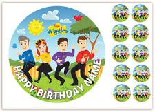 The Wiggles PERSONALISED Edible WAFER Cake Topper Image BONUS Cupcake Images