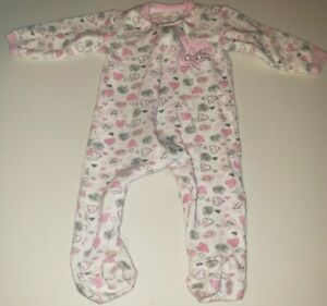 Duck Duck Goose Baby Girls Size 3-6M Long Sleeve Footed Sleeper