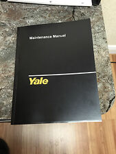 Yale Forklift ERC 040 050 060 065 RF ZF Electric Service Repair Manual Fork Lift