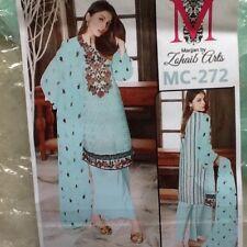Pakistani Designer ZOHAIB  ARTS Kameez Pants