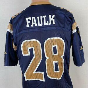 Nike Marshall Faulk St Louis Rams Replica Jersey Vtg NFL Football Youth Size XL