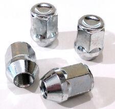 4 x wheel closed nuts lugs bolts M12x1.25, 19mm Hex, Tapered Seat - Alfa