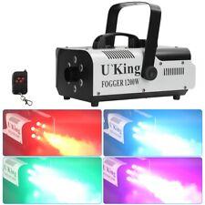 1200W Nebelmaschine RGB 6 LED Rauchmaschine DJ Bühneneffekt Disco Fernbedienung