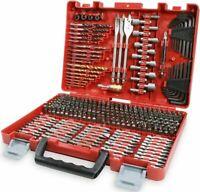 Craftsman Drill Bit Set 300 Piece Accessory Tool Kit Driver Screw Nut Tools Case