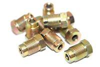 "M12 Brake Pipe Nuts Qty 10 Pk Male Metric 12mm x 1.0mm Nut 3/16"" Pipe BPN20"
