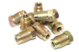 "M12 Brake Pipe Nuts Qty 10 Pk Male Metric 12mm x 1.0mm Nut 3/16 "" Pipe BPN20"