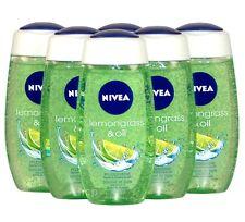 NIVEA Lemongrass & Oil , Pflegedusche für SIE im 6er - Pack, 6 x 250ml (1l=7,90)