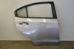 Subaru WRX STI Rear Right Door Shell Passenger Side Silver Genuine Oem 2015-2021