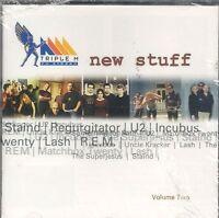 New Stuff CD NEW Regurgitator Something For Kate U2 Wheatus