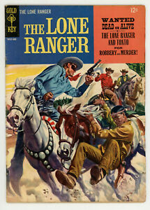 JERRY WEIST ESTATE: THE LONE RANGER #95 & 2 (VG) (Dell/Gold Key 1956-65)