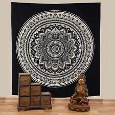 Wall Hanging Bedspread Dekotuch Cloth India Mandala Meditation ca.200x230cm Fair