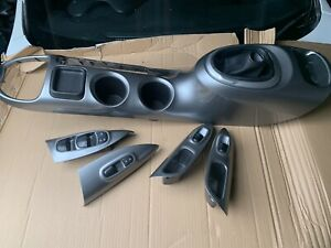 nissan juke interior trim panels silver