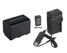 Battery + Charger FOR Sony DCR-SR42A DCR-SR42E DCR-SR45