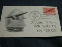 FDC First Day of Issue June 25, 1941 Washington DC Airmail Series