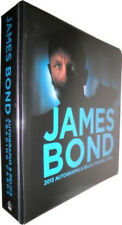 James Bond 007 Autographs & Relics Card Album