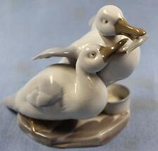 Enten porzellanfigur porzellan figur vogel ente  pfeffer gotha um 1900 b