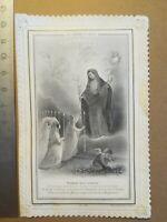 Canivet dentelle Holy Card image pieuse - Enfants bien aimés - Ch Letaille