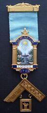 Masonic Past Masters Jewel Culminatum Lodge no 5709