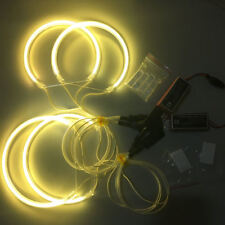 CCFL Angel Eyes LED Halo Ring Light for BMW E46 Non Projector (131+146)x2 Yellow