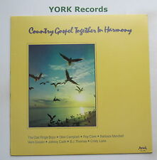 COUNTRY GOSPEL TOGETHER IN HARMONY - Various - Ex Con LP Record Arrival NU 1640