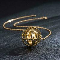 Universe Astronomical Ball Ring Pendant Necklace Couple Lover Chain Jewelry