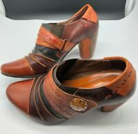 L'Artiste Spring Step Women EU 36 / 6 Wondrous Ankle Boots Brown Leather Heel
