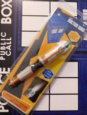 New Doctor Who Sonic Screwdriver LED Torch Flashlight - 12th Twelfth Doctor 6 IN