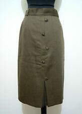 CULT VINTAGE '70 Gonna Donna Lana Vergine Virgin Wool Woman Skirt Sz.M - 44