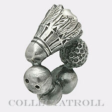 Authentic TrollBeads Silver Champion Trollbead 11334  TAGBE-30016  RETIRED