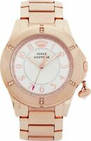 ** REDUCED ** Juicy Couture 1901201 Ladies' Rich Girl Rose Charm Bracelet Watch