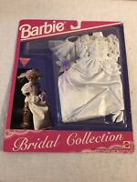 New! BARBIE OUTFIT 1992 BRIDAL FASHIONS COLLECTION WEDDING GOWN VEIL SHOES