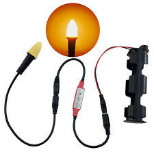 candle flame light LED kit flicker fire effects 9v & 12v for props cfl1-fec-kit1