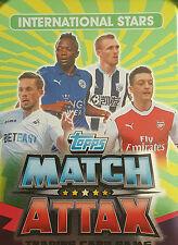 Topps Match Attax 2016-17 Single Football Cards Club International Stars Various