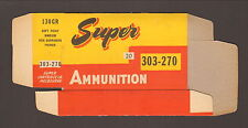 SUPER Ammunition Box for 303-270 (Box only-no cartridges) , MINT CONDITION