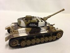 MILITARY ARMY TANK, RUN N SWING TURRET, DIE CAST, PULL BACK ACTION,TOYS(BR 405B)